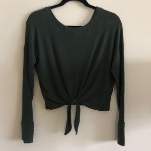 Abercrombie Cropped Sweater